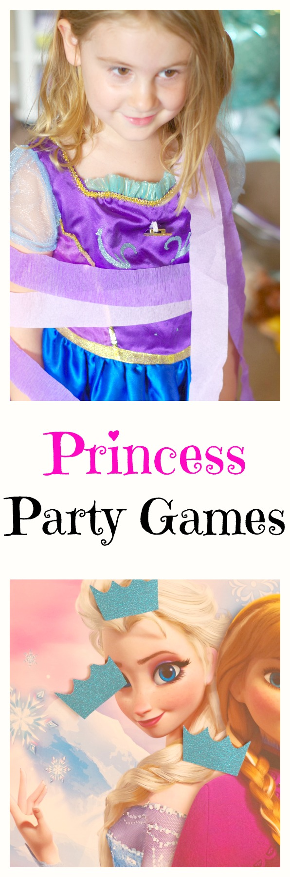 Princess Party Games! Make your princess party extra fun with all of these easy princess party games