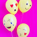 Simple DIY Emoji Balloons