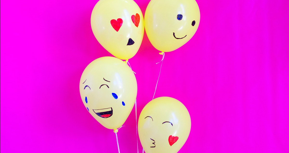 emoji balloon fun