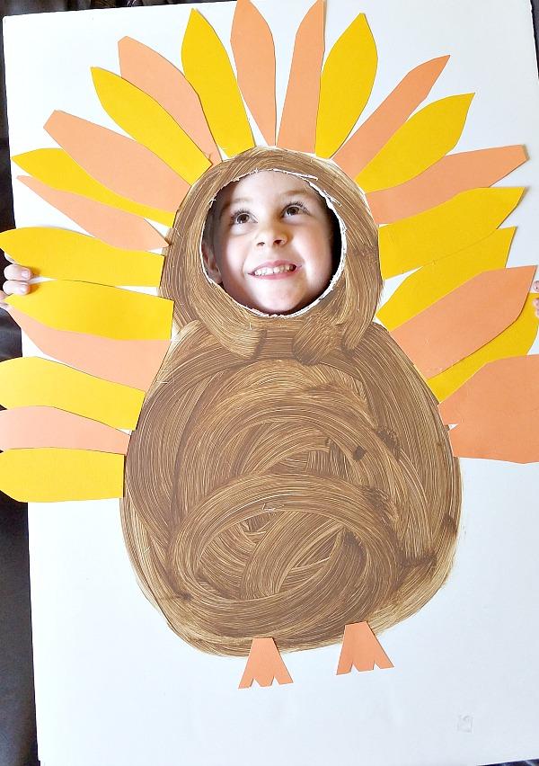 funny turkey prop