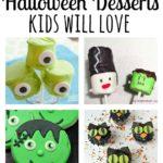 Halloween desserts kids will love