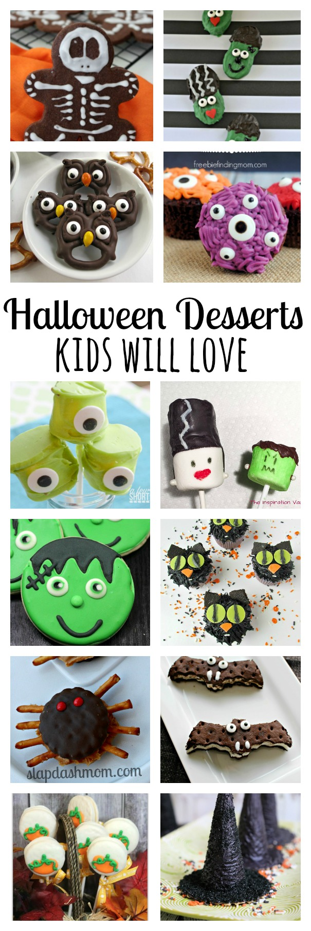 Halloween desserts kids will love