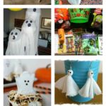 Halloween Ghost Crafts and Desserts