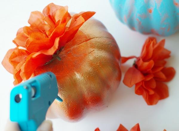 glue more flowers