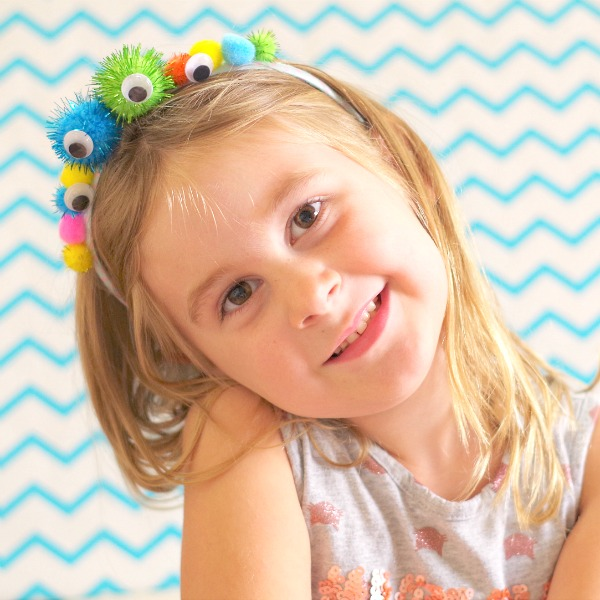 cute diy monster headband