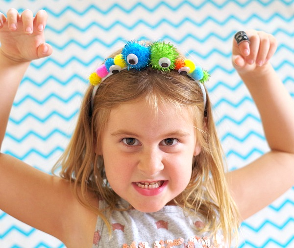 fun monster headband diy