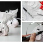 DIY Ghost Treat Bags with free printable tags