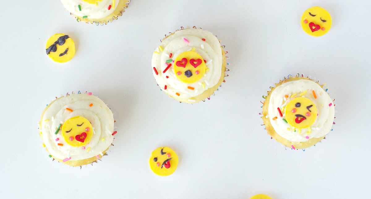 emoji cupcake faces