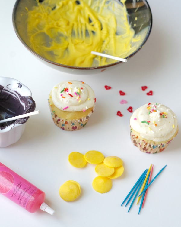 emoji cupcake ingredients