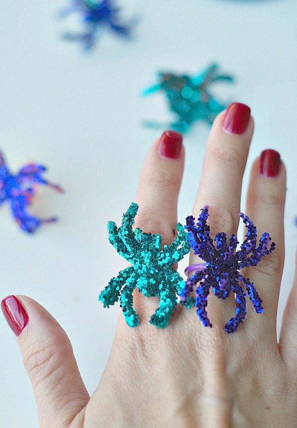 shiny spider rings are the best kind
