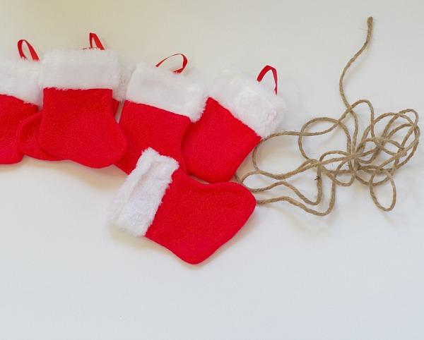 Christmas garland materials