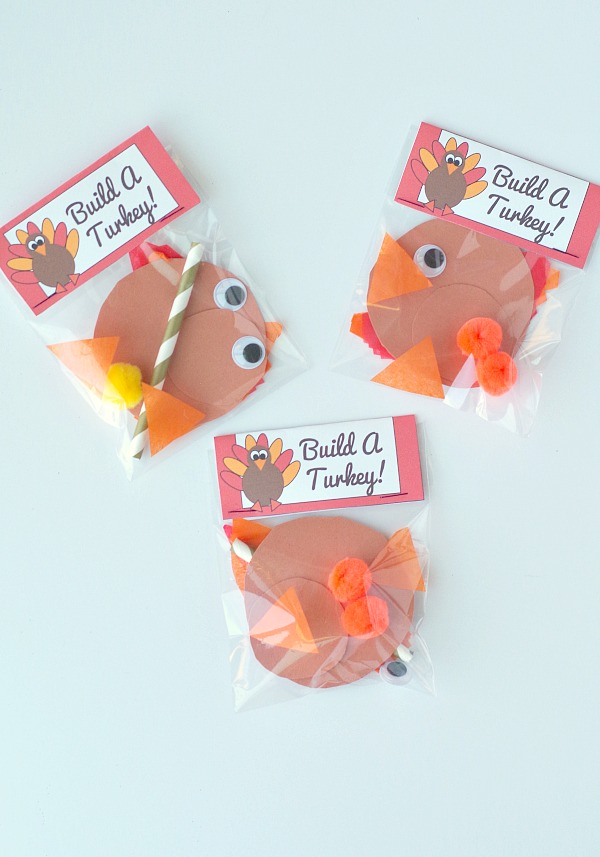 Thanksgiving turkey kids activity