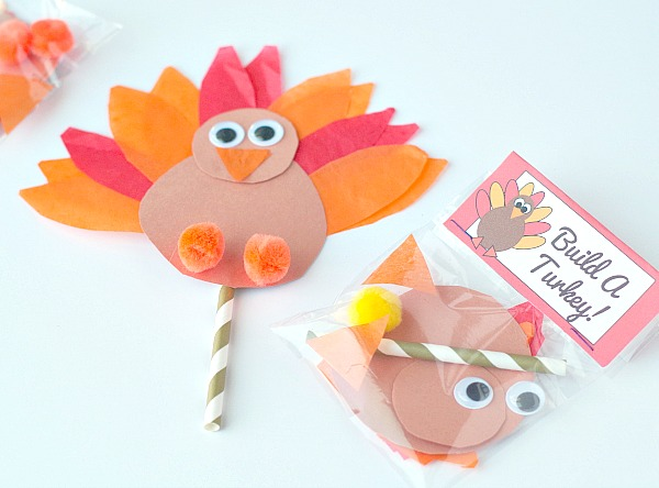 Build a turkey activity