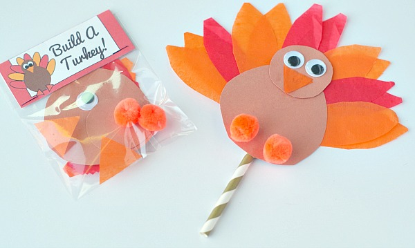 Thanksgiving turkeys activity for kids