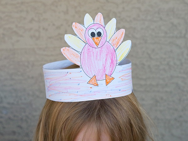 Turkey Thanksgiving Hat