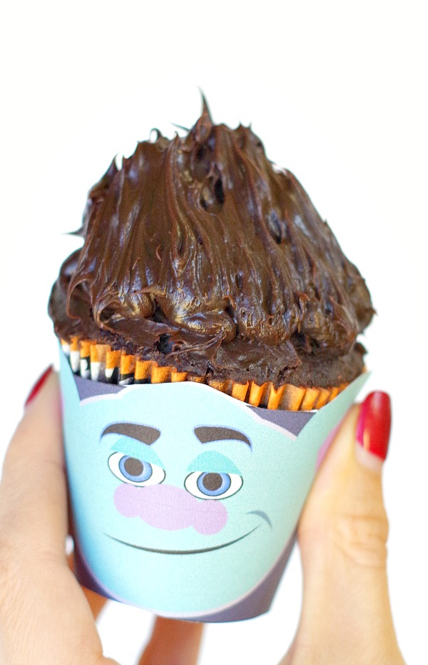 fun troll free printable cupcake wrapper