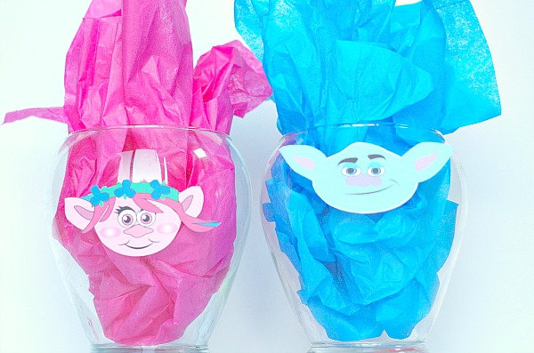 Troll printable centerpieces