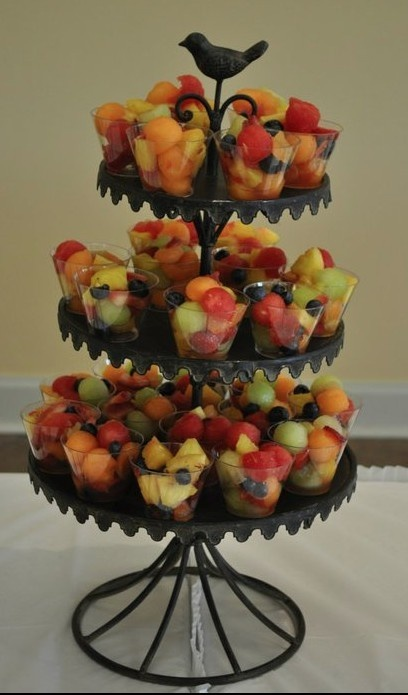 Tiered Stand for Serving Fruit