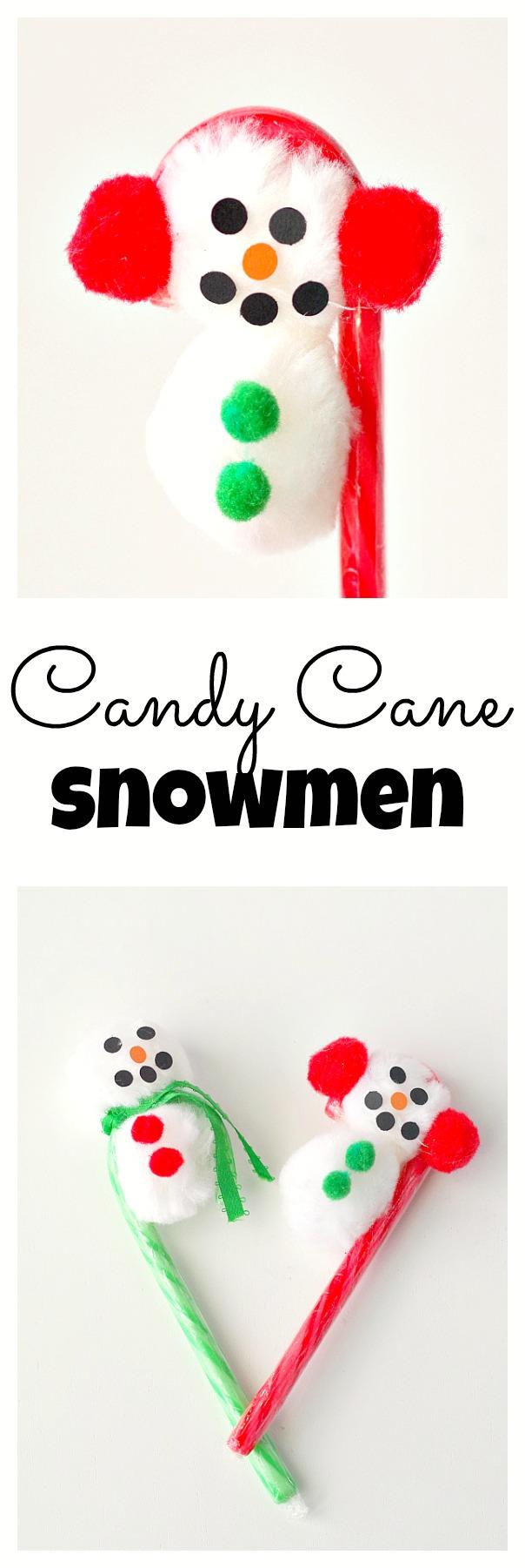 Candy Cane Snowmen