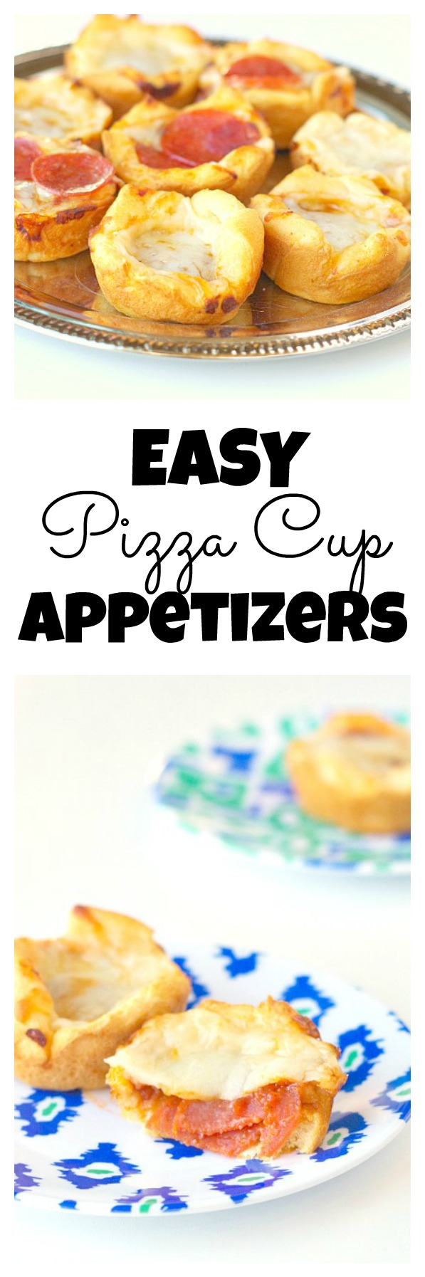 Easy Pizza Cup Appetizers