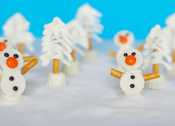 cute mini snow treats