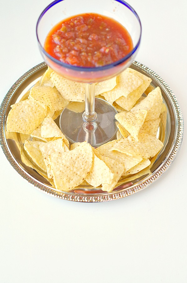Margarita Glass for serving party dips