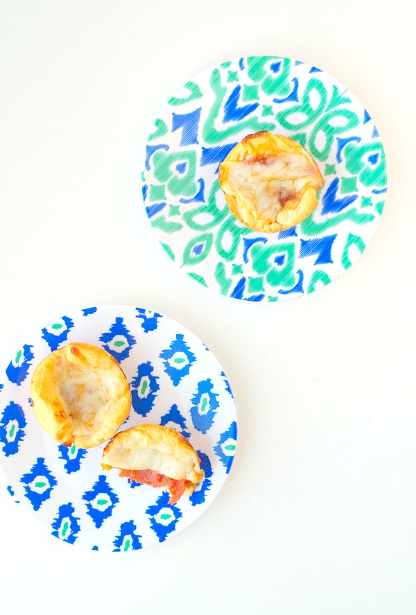 delicious easy pizza cups appetizer
