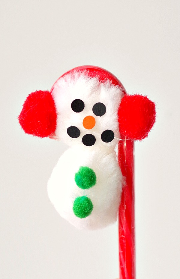 Candy Cane Snowman Gifts
