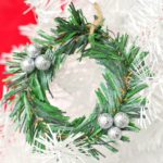 mini wreath ornament diy