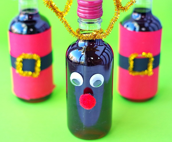 wine bottle gifts for christmas