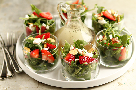 Salad in Small Cups