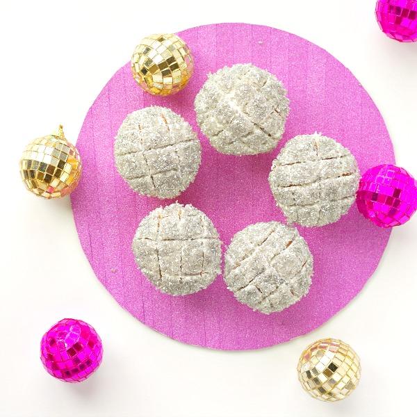 Shiny Disco Cupcakes