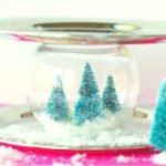 Snow Globe Serving Tray