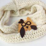 DIY No Sew Owl Scarf