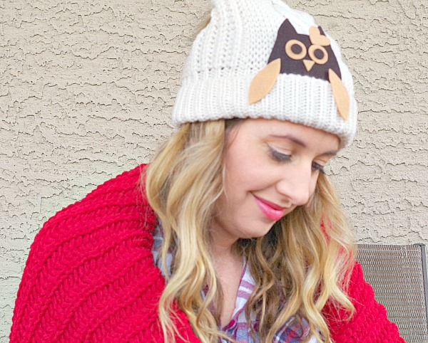 Owl Hat DIY With Store Bought Hat