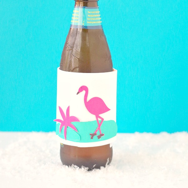 Flamingo DIY Drink Koozie