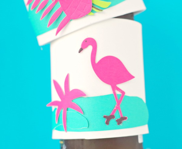 Tropical Beach Drink Koozie