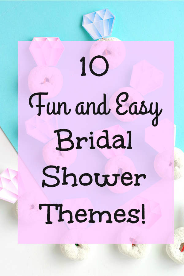 bridal showers are a great time to get together with friends and family to celebrate the bride to be you cant celebrate without a fun theme right