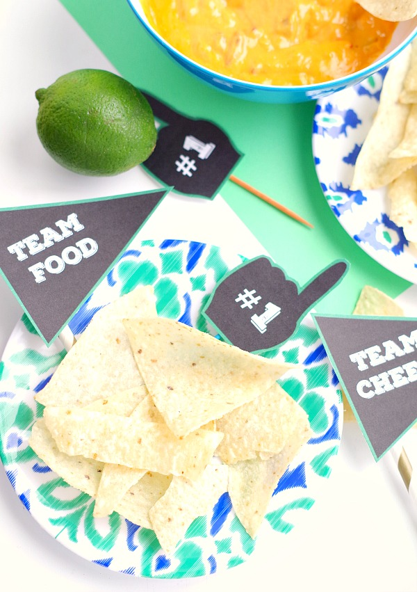 Free Printable Food Labels for sports parties