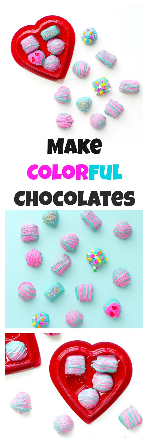 Make Colorful Chocolates
