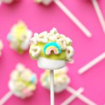 Lucky Charms Marshmallow Pops