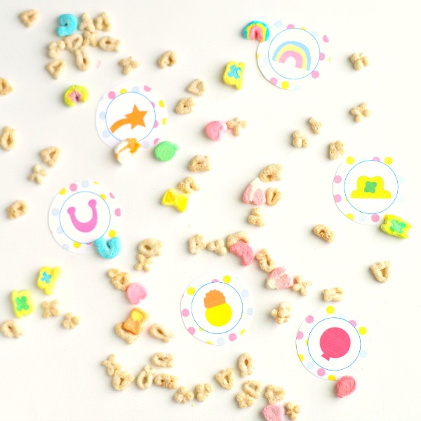 Printable Lucky Charms Party Decor