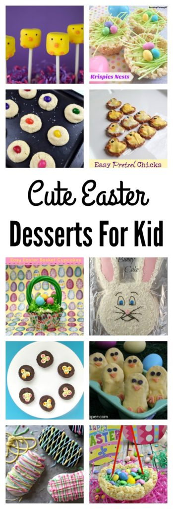 Cute Easter Desserts For Kids