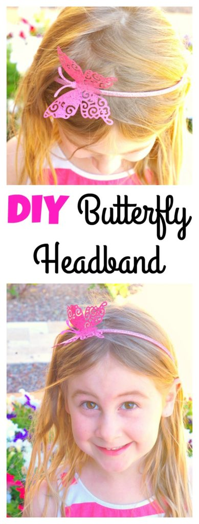 DIY Butterfly Headband