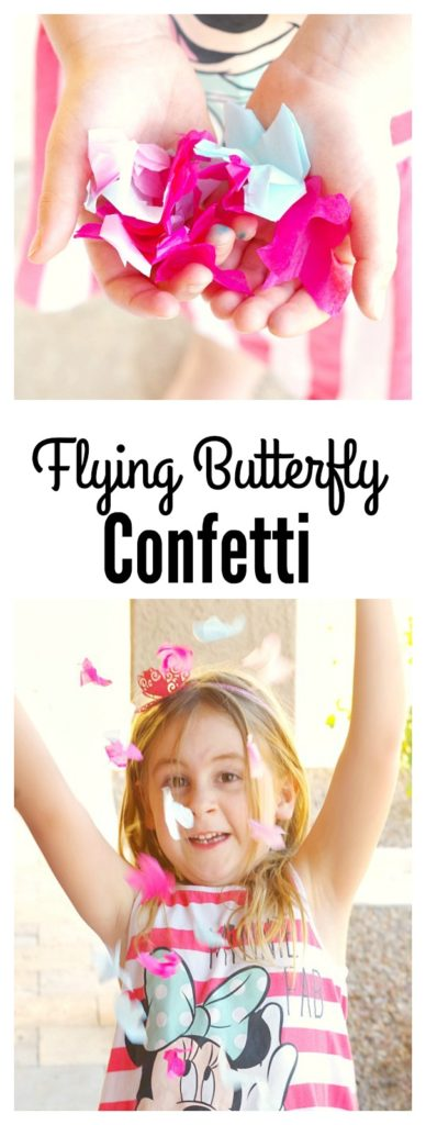 Flying Butterfly Confetti