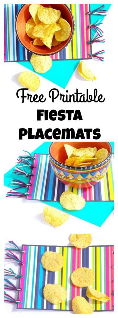 Free Printable Fiesta Placemats