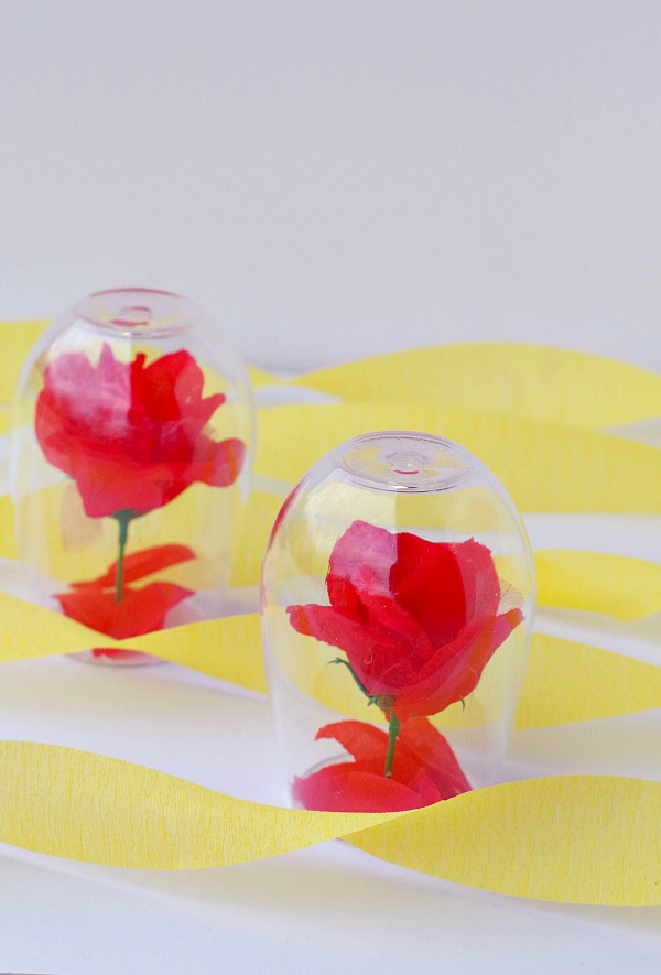 Rose Beauty and The Beast Inspired DIY Centerpiece