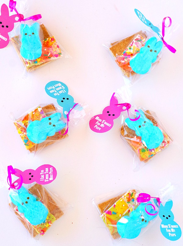 Peep Gift Tags and S'more Peeps