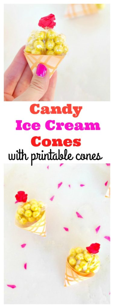 Candy Ice Cream Cones
