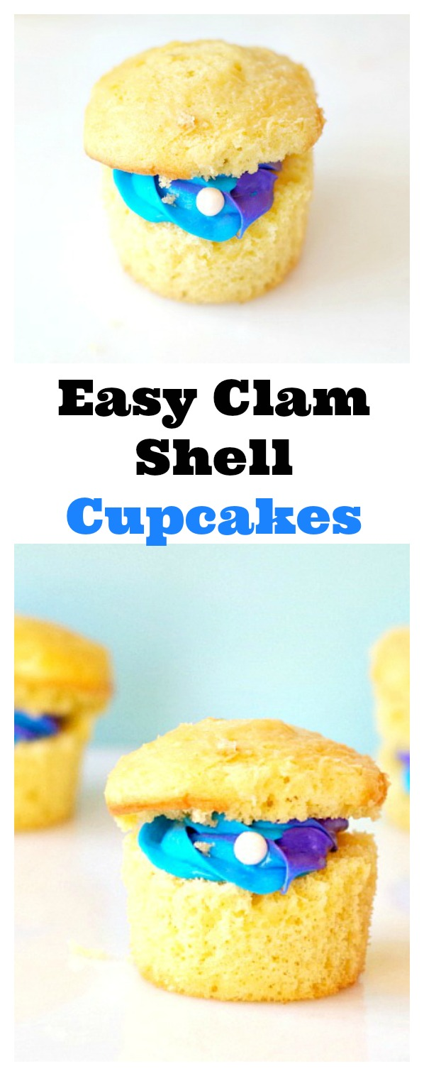 Clam Shell Cupcakes - Val Event Gal